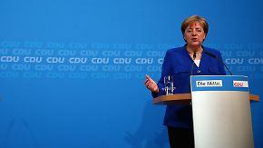 """Merkel zur Einigung zwischen CDU und CSU: """"Geist der Partnerschaft in der EU gewahrt"""""""