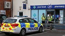 Neuer Gift-Verdacht in Salisbury: Terrorabwehr schaltet sich ein