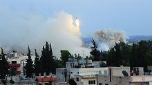 """""""Höllische Lage"""" in Daraa: Hunderte Angriffe erschüttern Süden Syriens"""