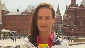 """Elke Büchter zur Stimmung in Moskau: Sicherheitsmaßnahmen """"haben Hooligans abgeschreckt"""""""