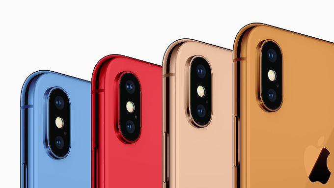 """So stellt sich """"9to5Mac"""" die neuen iPhone-Farben vor."""