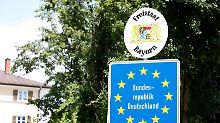 """Asyl-Einigung im Wortlaut: """"Personen reisen rechtlich nicht ein"""""""