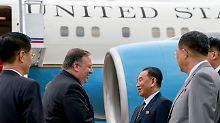 Denuklearisierung vorantreiben: US-Außenminister besucht Nordkorea