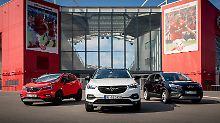 """So sieht Opel seine """"X""""-Familie: Sportlich, dynamisch und mit breit gefächertem Antriebsangebot."""