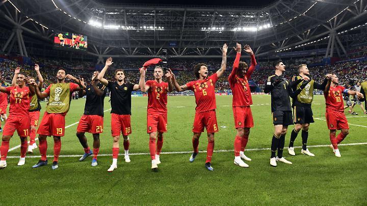 Belgien ist das einzige Team im Halbfinale, das von Adidas ausgerüstet wird.