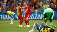 WM-Tag 21 in Bildern: Franzosen cool, Belgien kickt Brasilien raus