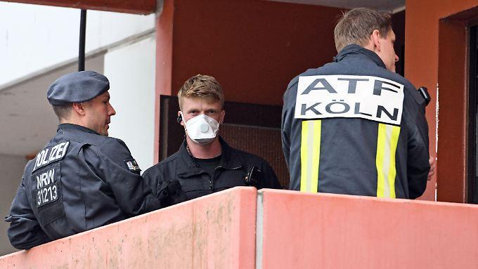 Mitte Juni durchsuchten Einsatzkräfte die Wohnung des Tunesiers in Köln.