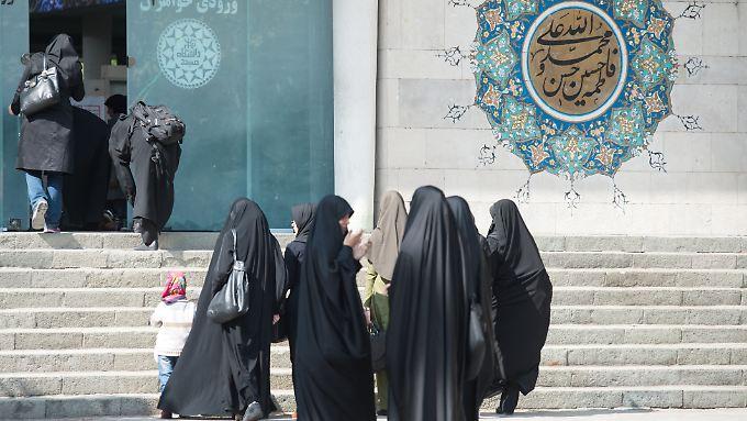 Im Gottesstaat Iran gelten strengislamische Regeln.