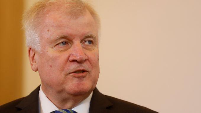 Horst Seehofer schickte den Brief eigenmächtig ab, die Bundesregierung distanziert sich nun.