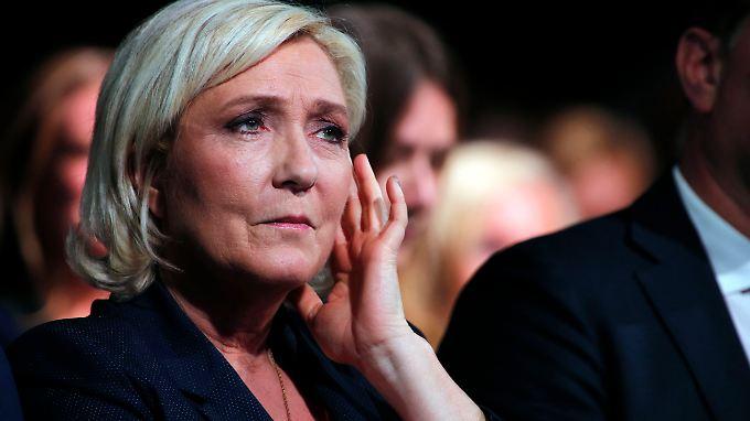 Marine Le Pen fürchtet um die Existenz der Rassemblement National.
