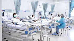 Drei der Kinder haben leichte Lungenentzündungen.