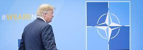Twitter-Tirade am Morgen: Trump teilt gegen Deutschland aus