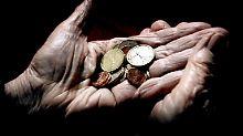 Angst vor Altersarmut wächst: Jede zweite Rente liegt unter 800 Euro