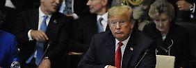 Wenn Nato-Partner nicht zahlen: Trump droht mit Alleingang bei Verteidigung