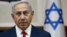 """Netanjahu: """"Die EU greift in die israelische Gesetzgebung ein""""."""