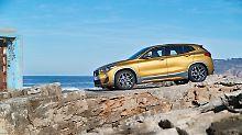 Wem der BMW X1 zu bürgerlich ist, der könnte sein Heil im X2 finden.