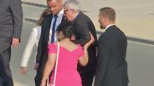 Schwankend beim Nato-Gipfel: Juncker macht trotz Rückenproblemen weiter