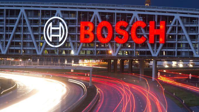 Im Gegensatz zum Zulieferer Continental AG wird Bosch nach aktueller Einschätzung in diesem Jahr ein Umsatzplus schaffen.