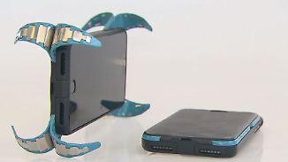 Erfindergeist made in Germany: Handy-Airbag schützt vor teuren Display-Schäden