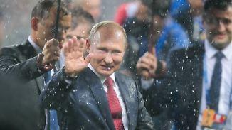 WM als russische Imagepolitur: Der Gewinner heißt Wladimir Putin