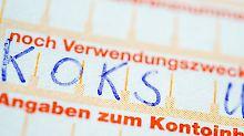 """""""Für Koks, Nutten und Waffen"""": Kuriose Verwendungszwecke ärgern Banken"""