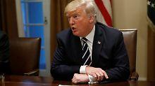 """Russlands Einmischung in US-Wahl: Trump: """"Habe mich versprochen"""""""