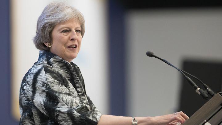 Premierministerin May dürfte sich über das Abstimmungsergebnis freuen.