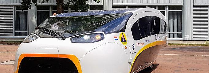 """""""Bei 45 Grad die Hölle"""": Solarauto Stella Vie fährt der Sonne entgegen"""