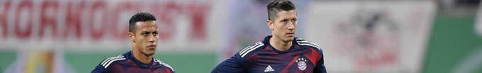 Der Sport-Tag: 11:39 Mourinho hat wohl Lewandowski und Thiago im Visier