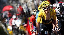 Frust-Tour für deutsche Sprinter: Thomas schlägt Froome in Alpe d'Huez