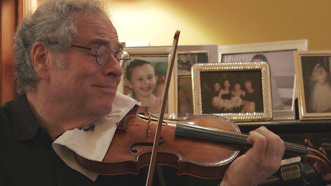 Stieß zu Beginn seiner Karriere auf Vorurteile und ist heute einer der weltbesten Geiger: Itzhak Perlman.