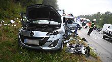 Schwerer Unfall nahe Heilbronn: Vier Menschen sterben auf der A81