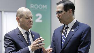 Ringen um fairen Welthandel: Gespräche der G20-Finanzminister stecken fest