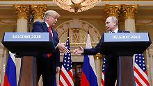 Einladung ins Weiße Haus: Trump will Putin erst nächstes Jahr treffen