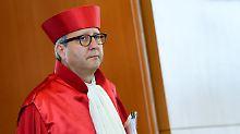 """Verfassungsrichter rügt die CSU: Voßkuhle nennt Asylrhetorik """"inakzeptabel"""""""