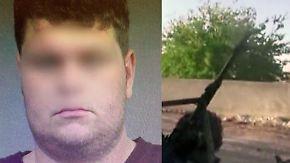 """""""Grausam Menschen getötet"""": Generalbundesanwalt klagt deutschen IS-Aussteiger an"""