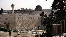 Nach Randale auf dem Tempelberg: Israels Polizei stürmt Al-Aksa-Moschee