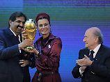 Bei der WM-Vergabe im Jahr 2010 gewinnt überraschend Katar.