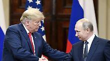 """Trotz des """"großartigen Treffens"""": Trump behält Sanktionen gegen Russland bei"""