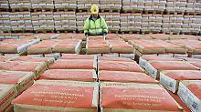Stabiles Wachstum: Bauboom beglückt HeidelCement