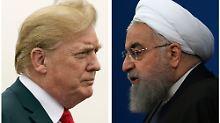 Teheran ist kritisch: Trump rechnet mit baldigen Iran-Gesprächen