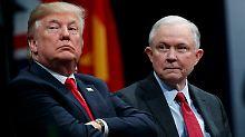 Trump übt Druck auf Minister aus: Sessions soll Russland-Ermittlungen stoppen
