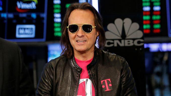 Das beste zweite Quartal der Unternehmensgeschichte - T-Mobile-Chef John Legere.