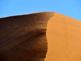 Dünen in Sossusvlei, Namibia.