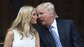 """""""Fake News""""-Tiraden des US-Präsidenten: Tochter Ivanka distanziert sich von Donald Trump"""