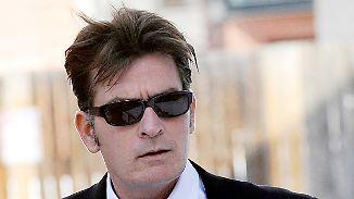 Promi-News des Tages: Charlie Sheen hat kein Geld mehr für seine Kinder
