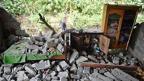 Über 90 Tote, viele Verletzte: Schweres Erdbeben erschüttert Ferieninsel Lombok
