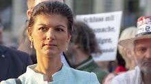 """Kein """"grenzenloses"""" Willkommen: Wagenknecht umreißt """"Aufstehen""""-Ziele"""