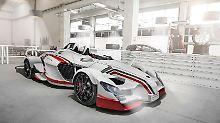 Einer von fünf spanischen PS-Protzen ist das Tramatona-Car.
