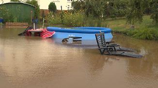 Auf Hitze folgt Hochwasser: Heftige Gewitter ziehen über Hessen
